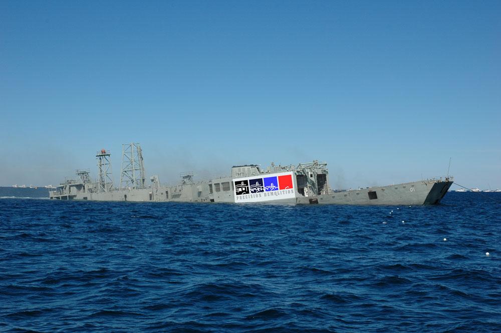 Ex-HMAS Adelaide – Avoca Beach, NSW