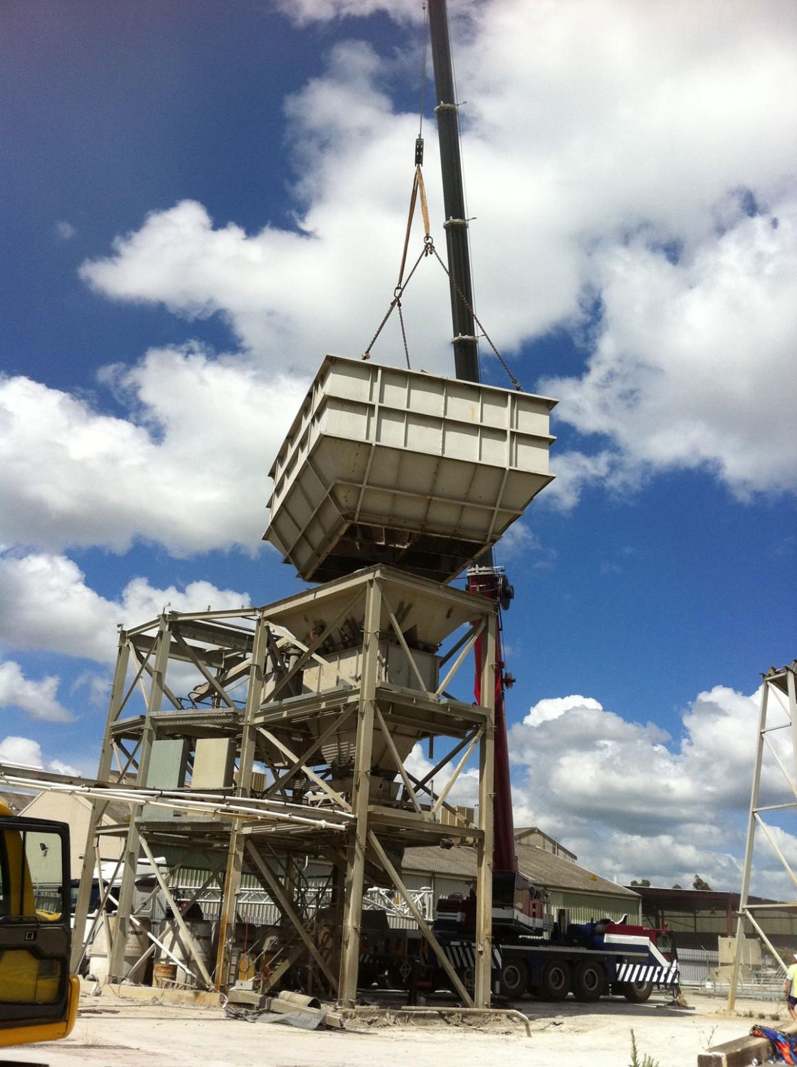 Boral Concrete Batching Plant ,NSW
